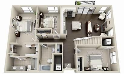 Floor Plans Plan Lofts 3d Bedroom Sims
