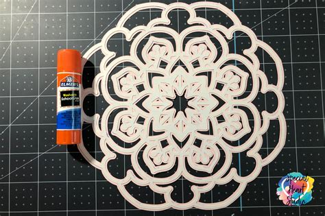 Supplies for the butterfly layered mandala free svg. FREE LAYERED MANDALA SVG - Special Heart Studio - Cut ...