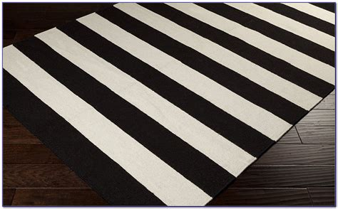 black and white striped rug 8x10 black and white striped home decor black and white