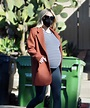 Pregnant Emma Roberts Out on Thanksgiving Day in Los ...
