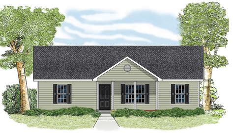 simple ranch design lw architectural designs house plans
