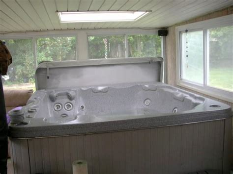 indoor hot tub cover doityourselfcom community forums