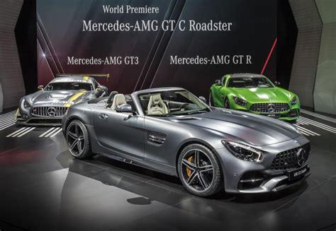 2018 Mercedes-amg Gt C Spy Shots