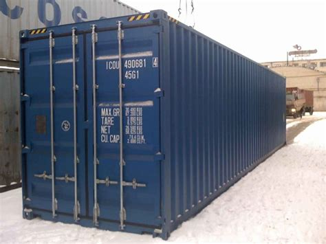 40'hc Container New Containerstrade