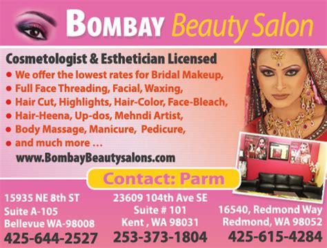 bombay salon bellevue beautician hair salon spa parm