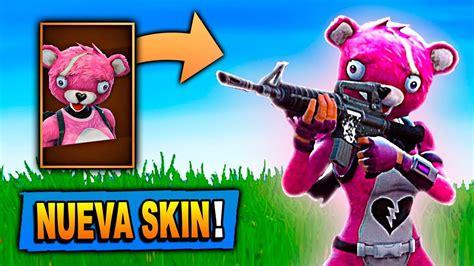 nueva skin legendaria de oso de peluche en fortnite