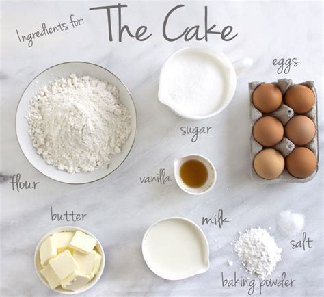 ingredients to make a cake tkd the best vanilla cake recipe