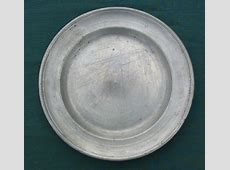 Pewter Plates at Old Dominion Forge Apartment Therapy