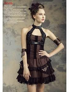haut steampunk femme noir et marron rq bl With vêtements steampunk femme