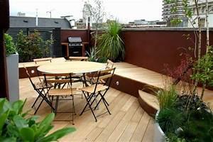 Terrasse Gestalten Pflanzen : 1001 ideen f r terrassengestaltung modern luxuri s und gem tlich ~ Orissabook.com Haus und Dekorationen