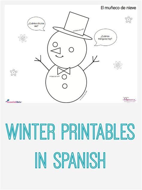 winter activity sheets in printable bilingual 688 | ed6edbb770f58ac5f6964f92500d2acc