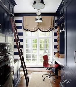 Laundry Room Ladder On Rails Design Ideas