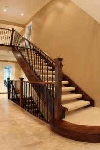Carpet To Hardwood Stairs by Flooring For Stairs Classic Floor Designs