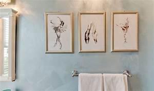 Tableau Pour Salle De Bain : tableau salle de bain et cadre d coratif en 40 id es top ~ Teatrodelosmanantiales.com Idées de Décoration