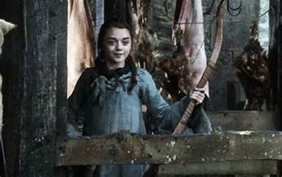 Arya Stark Season Thrones Strip Popsugar Then