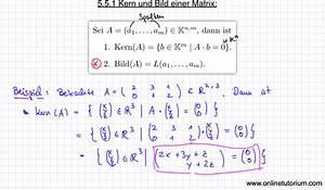 Matrix Kern Berechnen : mathematik nachhilfe videos vorlesungen bungen mathe ~ Themetempest.com Abrechnung