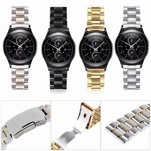 Montre Gear S2 : acier lnox montre bande bracelet wristband pour samsung galaxy gear s2 classique ebay ~ Preciouscoupons.com Idées de Décoration