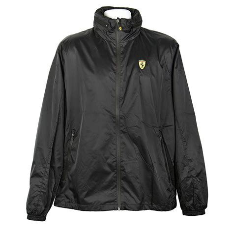 Ferrari sf90 spider combines hybrid 1000 horsepower performance with the pleasure of en plein air driving in a roadster with phev powertrain architecture. Official Scuderia Ferrari Men's Black Hooded Rain Jackets - Racing Hall of Fame Collection