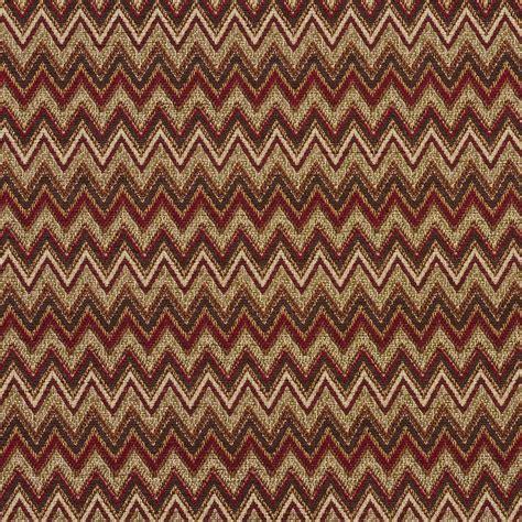 beige  brown burgundy southwestern chevron tapestry