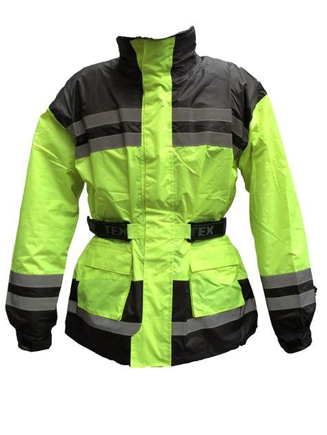 hi vis cycling jacket waterproof hi vis high visibility waterproof motorcycle bike cycling