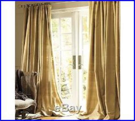 Pottery Barn Curtains 108 by Pottery Barn Silk Dupioni Doublewide Lined Drape 104 X108