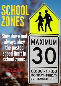 Remember to slow down in school zones - Montgomery Place ...