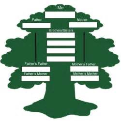 family trees for family tree of project ideas for children trees