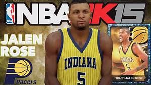 NBA 2K15 Sapphire Jalen Rose Creation - YouTube