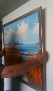 Bilder Aufhängen Ohne Bohren : profianleitung leinwandbild ohne bohren aufh ngen galerie munk original lgem lde ~ Udekor.club Haus und Dekorationen