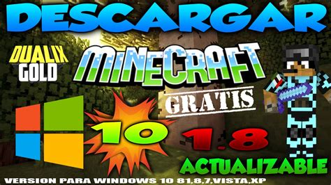 2016 Descargar Minecraft Para Windows 10 Gratis