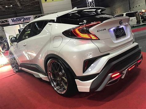 Toyota Chr Hybrid Modification by Blackpearl Complete Look Me From Half Kit Brand