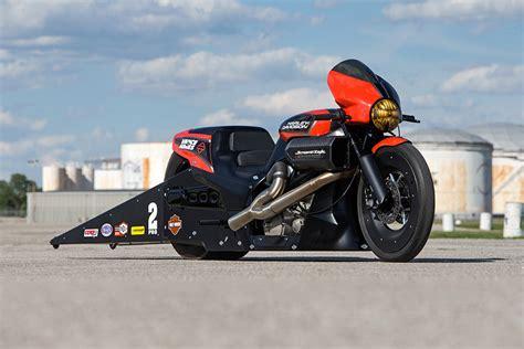 2017 Harley-davidson Street Rod 750 Goes Drag Racing