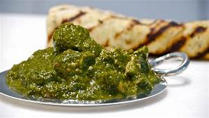 Chicken Saag Cook on your feet