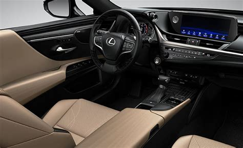 lexus es  interior specs  colors price