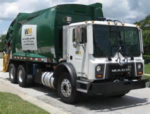Waste Management Garbage Truck Mack