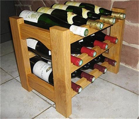 casier a bouteille cuisine réaliser et fabriquer un casier à bouteilles en bois