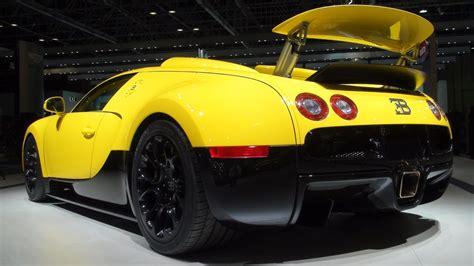 yellow bugatti yellow bugatti veyron grand sport 2011 dubai motorshow