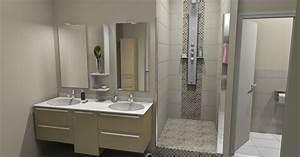 Mobilier Salle De Bain : mobilier de salle de bain perret sas ~ Teatrodelosmanantiales.com Idées de Décoration