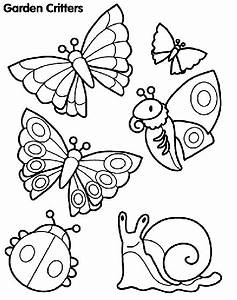 Garden Critters Coloring Page | crayola.com