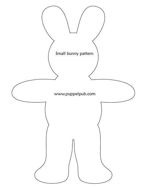 Bunny Template For Sewing by Best Photos Of Bunny Rabbit Pattern Bunny Rabbit Sewing
