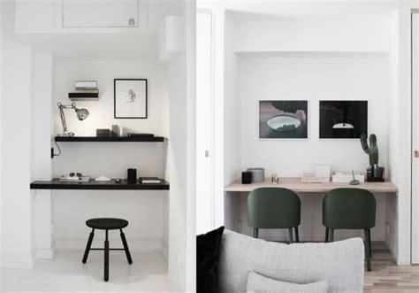 espace bureau dans salon 20 inspirations pour un petit bureau joli place