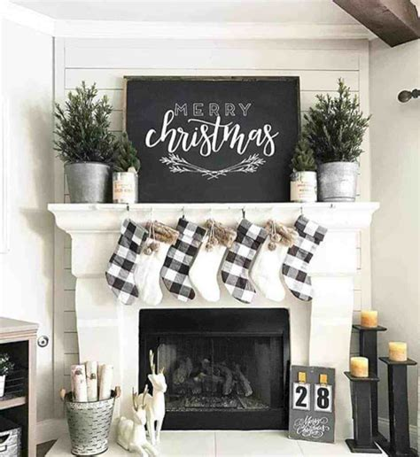 gorgeous christmas mantel decorating ideas futurist