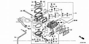 Honda Engines Gx630rh Vxe1 Engine  Chn  Vin  Gcamh