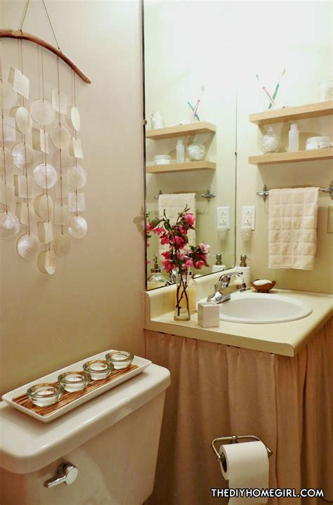 Apartment Bathroom Makeover by Warm Feminine Apartment Bathroom Makeover The Decor Guru