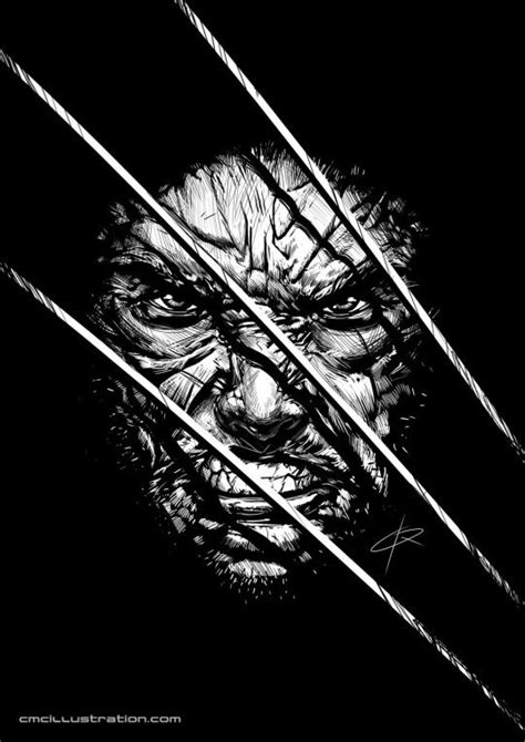 Wolverine by Cristian Melián | Wolverine, Wolverine art