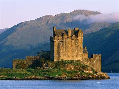 Castle Donan Eilean Wallpapers Scotland Ireland Castles