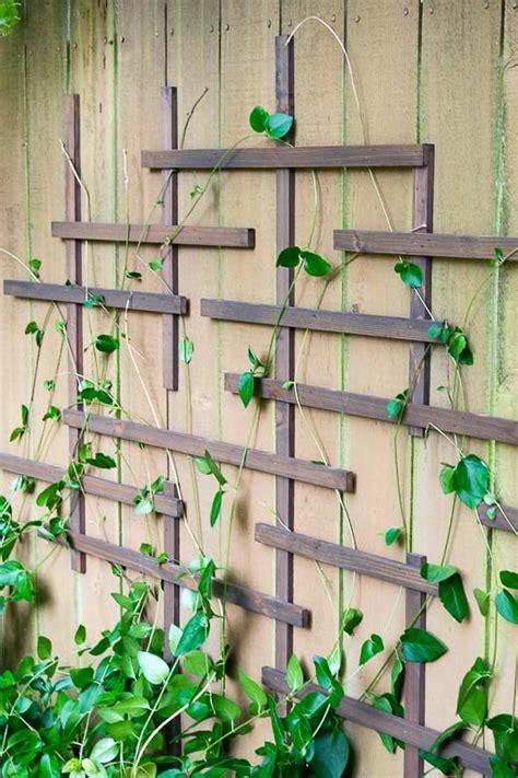 diy fence trellis pretty handy girl