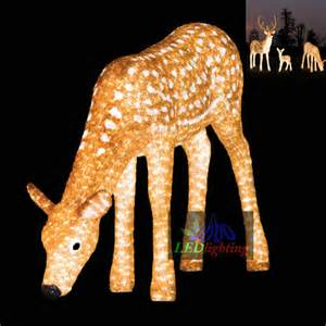 outdoor decortive lighted reindeer for holidays view outdoor decortive lighted reindeer for