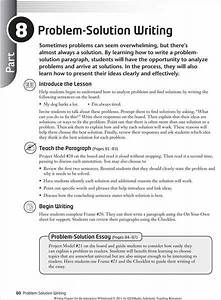 Problem Solution Essays Examples thesis maker for literary analysis essay ready meals anoka county library homework help