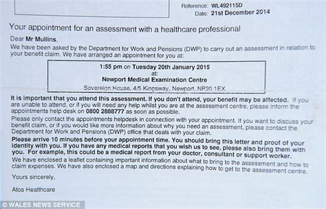 widow receives letter ordering husband  disability